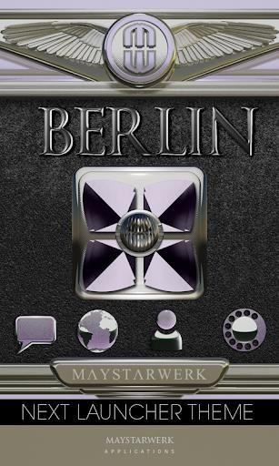 Next Launcher Theme Berlin