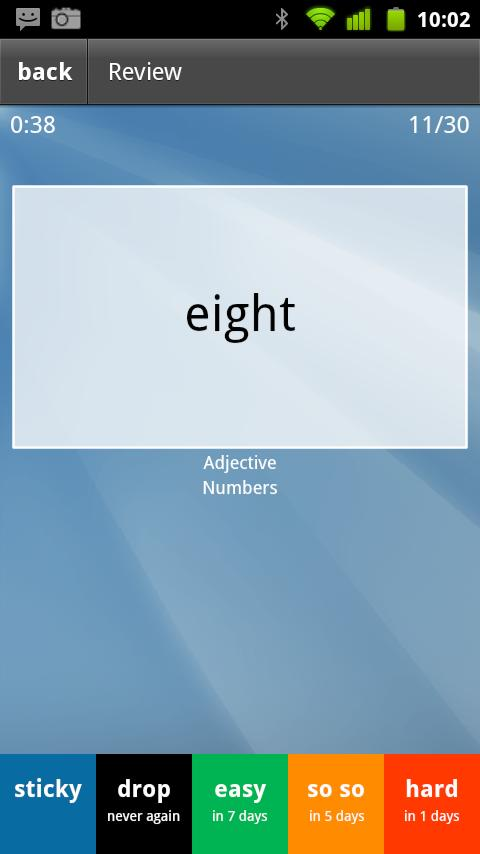 Learn Tagalog Flashcards- screenshot