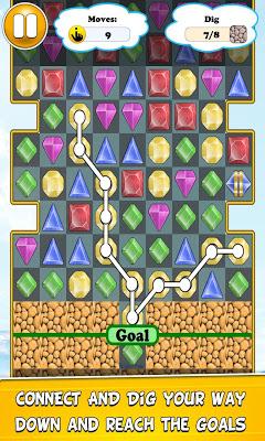 Connect Diamonds Mania - screenshot