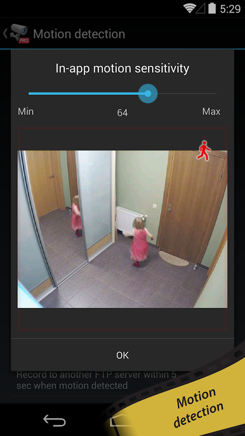 tinyCam Monitor PRO for IP cam - screenshot