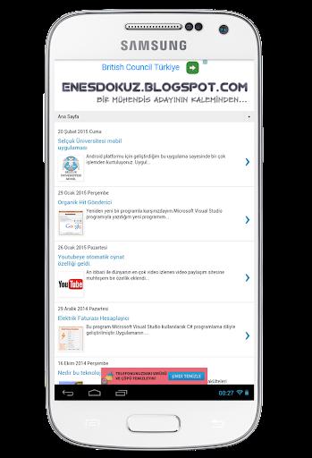 Enes Dokuz Blog
