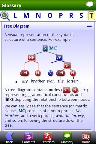 iGE Lite: iGrammar of English - screenshot