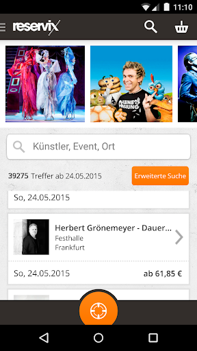 Reservix TicketApp