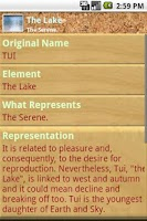 Screenshot of I Ching