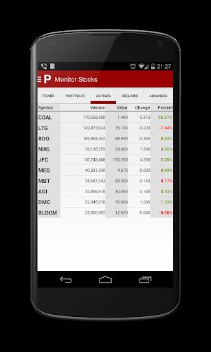 PSE Finance (Philippine Stock) screenshot