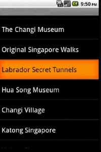Singapore Holiday Guide GPS screenshot 3