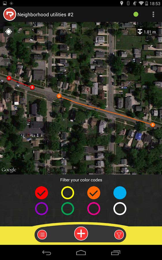 RIDGID® Trax - screenshot