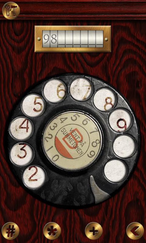 Nostalgic Phone DEMO- screenshot