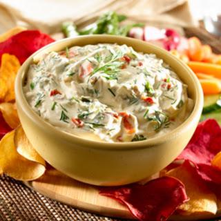 Creamy Dilled Vegetable Dip.