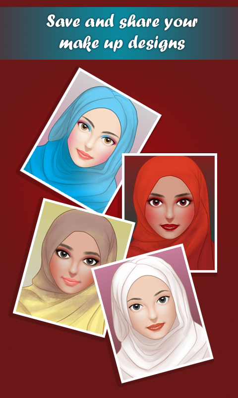 Hijab Make Up Salon- screenshot