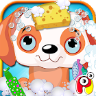 Pets Wash Dress up Salon icon
