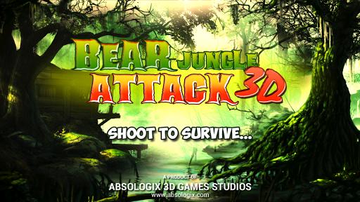 熊叢林攻擊3D