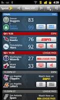 Screenshot of Sprint NBA Mobile