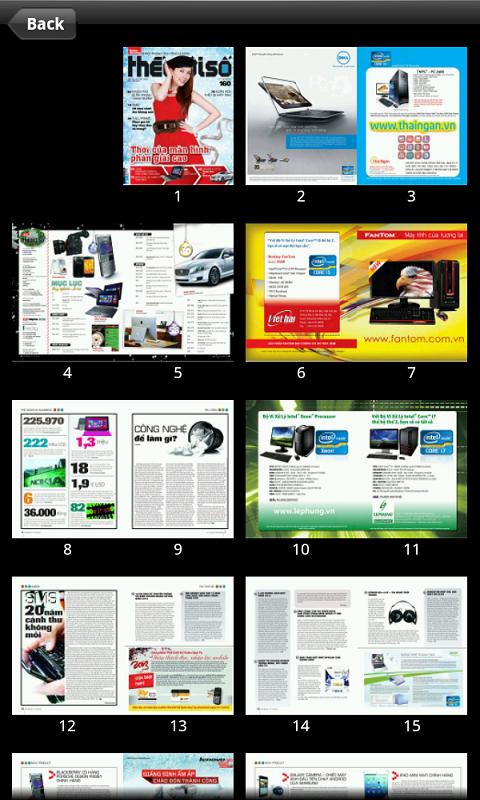 Tạp chí Thế Giới Số- screenshot