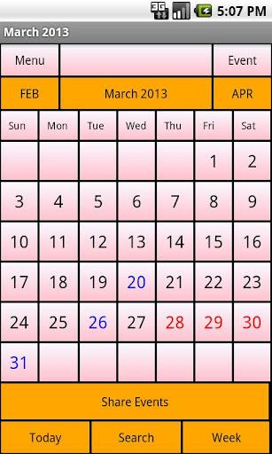 Calendar Me Guatemala 2013