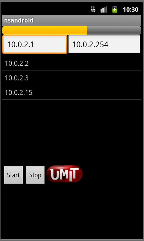 Umit Network Scanner - screenshot