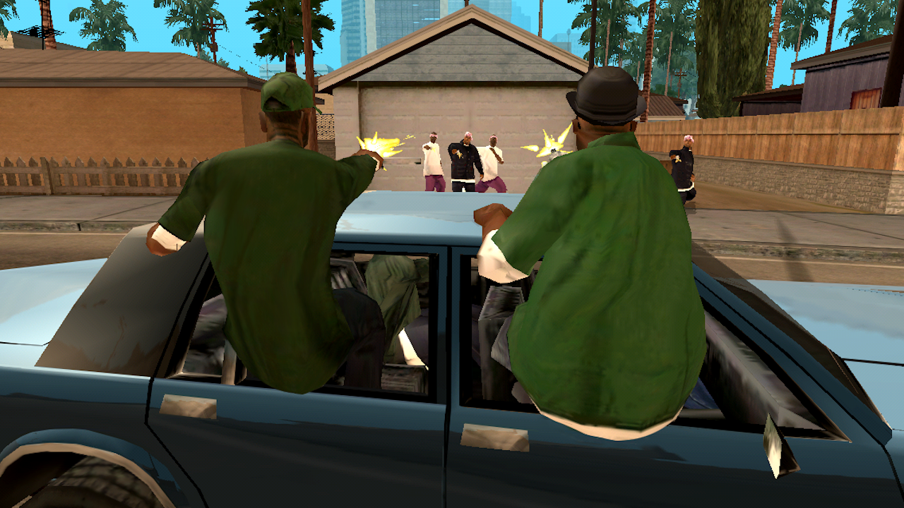 Grand Theft Auto: San Andreas - screenshot