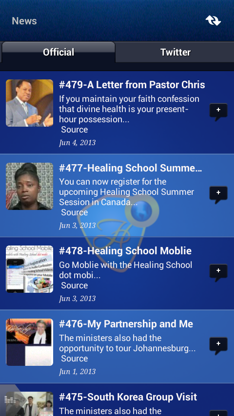 Healing School Mobile - screenshot