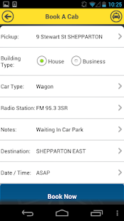 Greater Shepparton Taxis- screenshot thumbnail