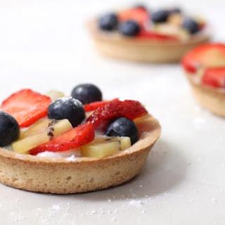 Summer Fruit Tarts with Honeyed Ricotta Recipe