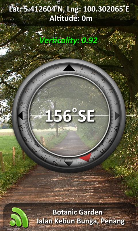 Camera Compass - screenshot