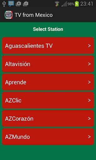 メキシコからのテレビ