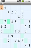 Screenshot of Sudokroid