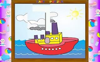 Screenshot of Baby Puzzle III Free