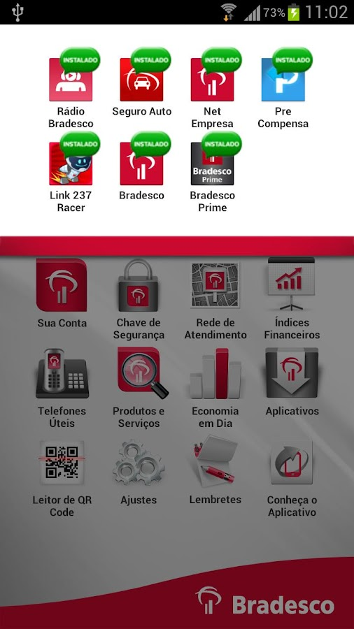 Bradesco Exclusive - screenshot