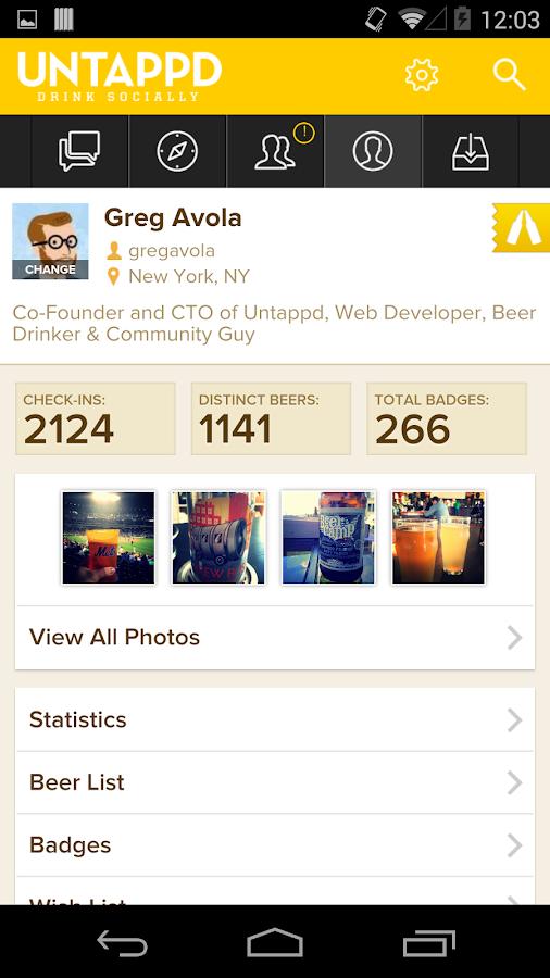 Untappd - Discover Beer - screenshot