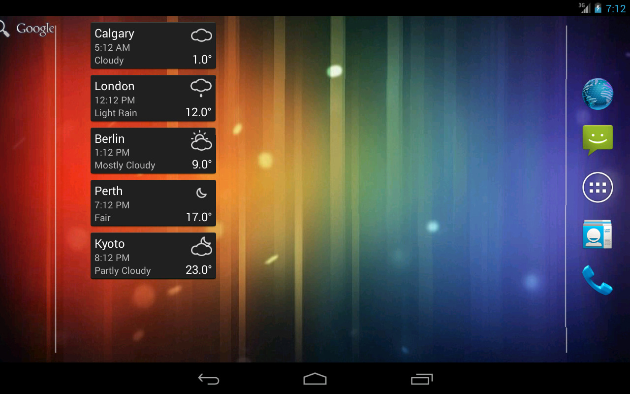 World clock weather widget android apps on google play world clock weather widget screenshot gumiabroncs Choice Image