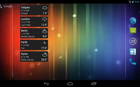 World Clock & Weather Widget 1.8.3 screenshot 530703
