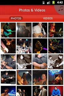 JOSH WARD BAND - screenshot thumbnail