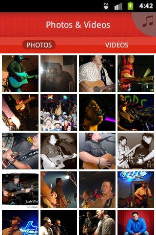 JOSH WARD BAND - screenshot