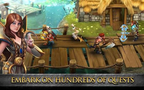 Divine Might - 3D MMORPG - screenshot thumbnail