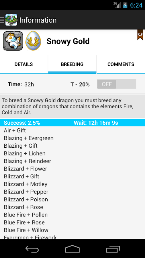DragonBreed for DragonVale - screenshot