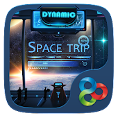 Space Trip GO Dynamic Theme