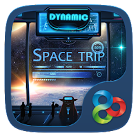 Space Trip GO Dynamic Theme 1.0