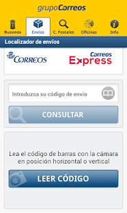 Correos Info - náhled