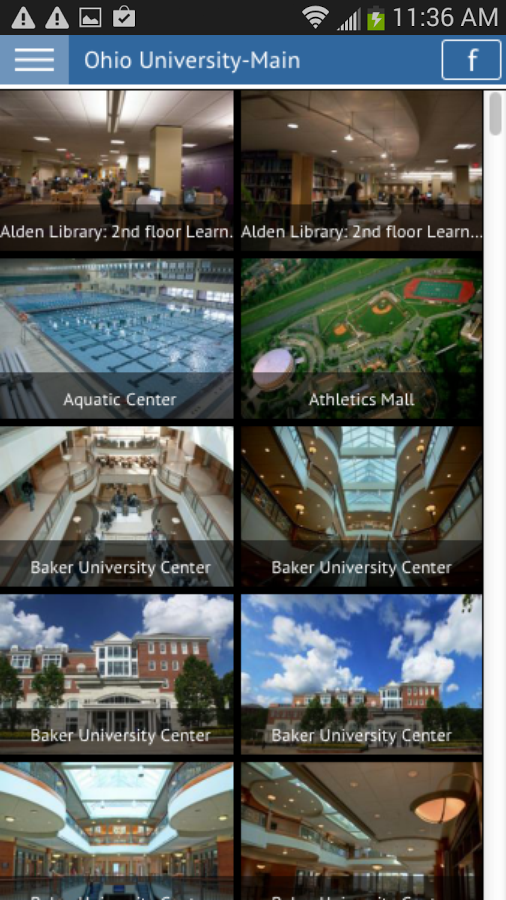 Ohio University- screenshot