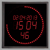 LED Clock for Smartwatches
