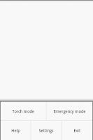 Screenshot of Torch & Emergency light