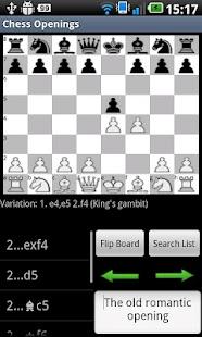 Chess Openings - screenshot thumbnail