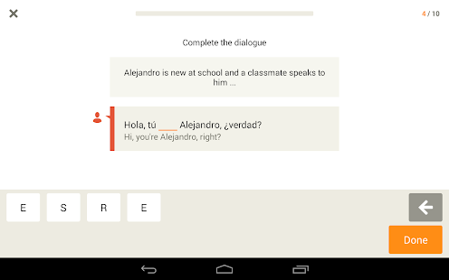 Learn Spanish with Babbel - screenshot thumbnail