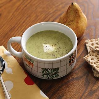 Roasted Broccoli & Cheddar Soup.