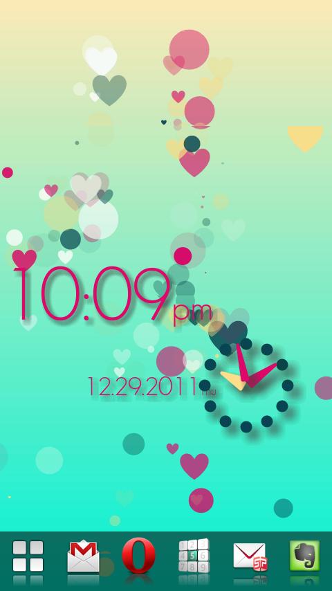 PolkaDotsFlow! Live Wallpaper - screenshot