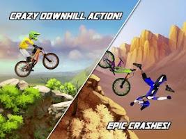 Screenshot of Bike Mayhem Mountain Racing