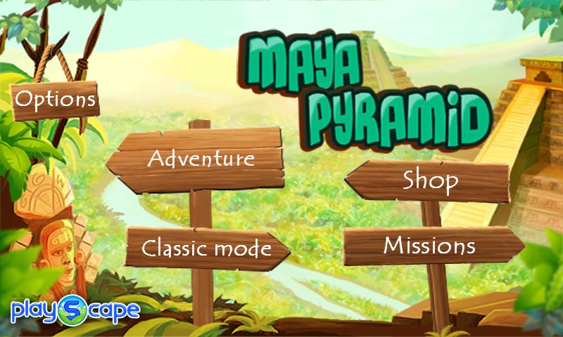 Maya Pyramid - screenshot