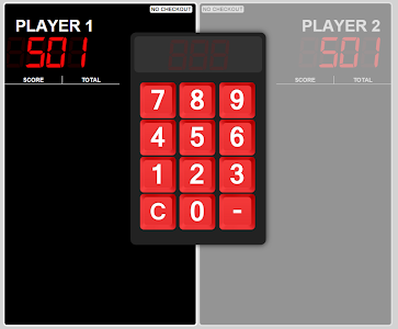 Big Bulls Darts Scoreboard screenshot 0