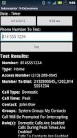 Screenshot of Call Interceptor: V-Extensions